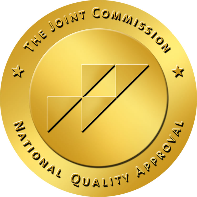 Joint Commission National Quality Approval award label image
