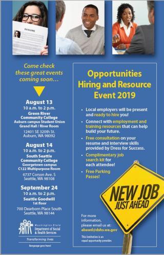 ABAWD job fair flyer
