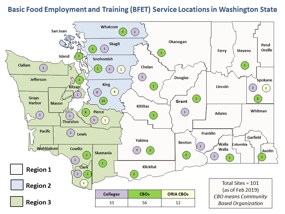 BFET and RISE Provider Map