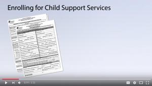 How to enroll for child support