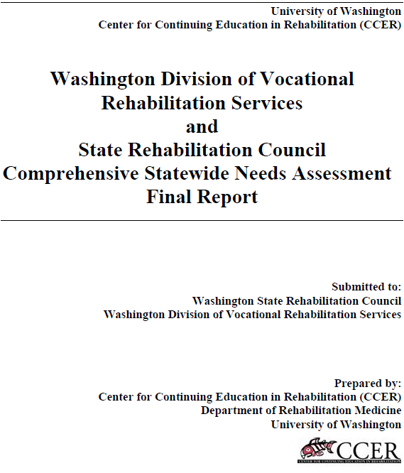 Image Comprehensive Statewide Needs Assessment