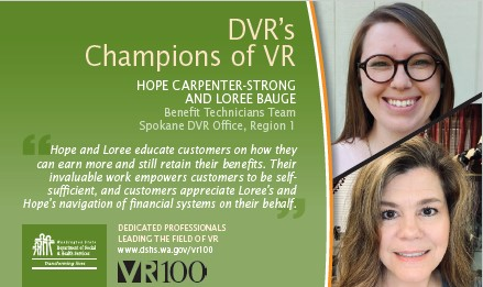 Image of champions of Hope and Loree