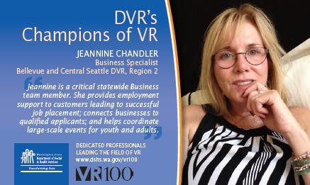 Image of champions of VR Jeannine C.