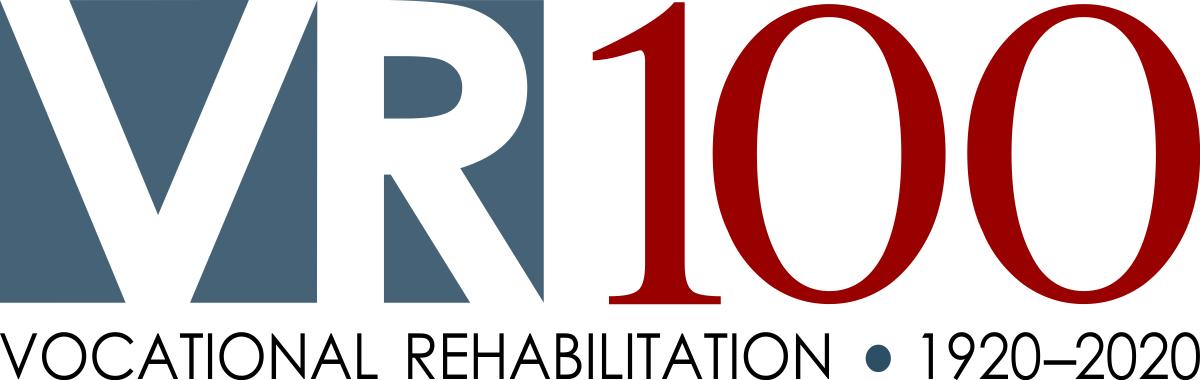 VR100 logo