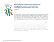 Report Cover: Behavioral Health Treatment Needs and Outcomes among Foster Care