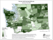 Hearing Difficulty (ACS data by Census Tract)