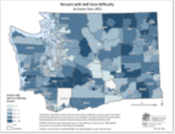Self-Care Difficulty (ACS data by Census Tract)