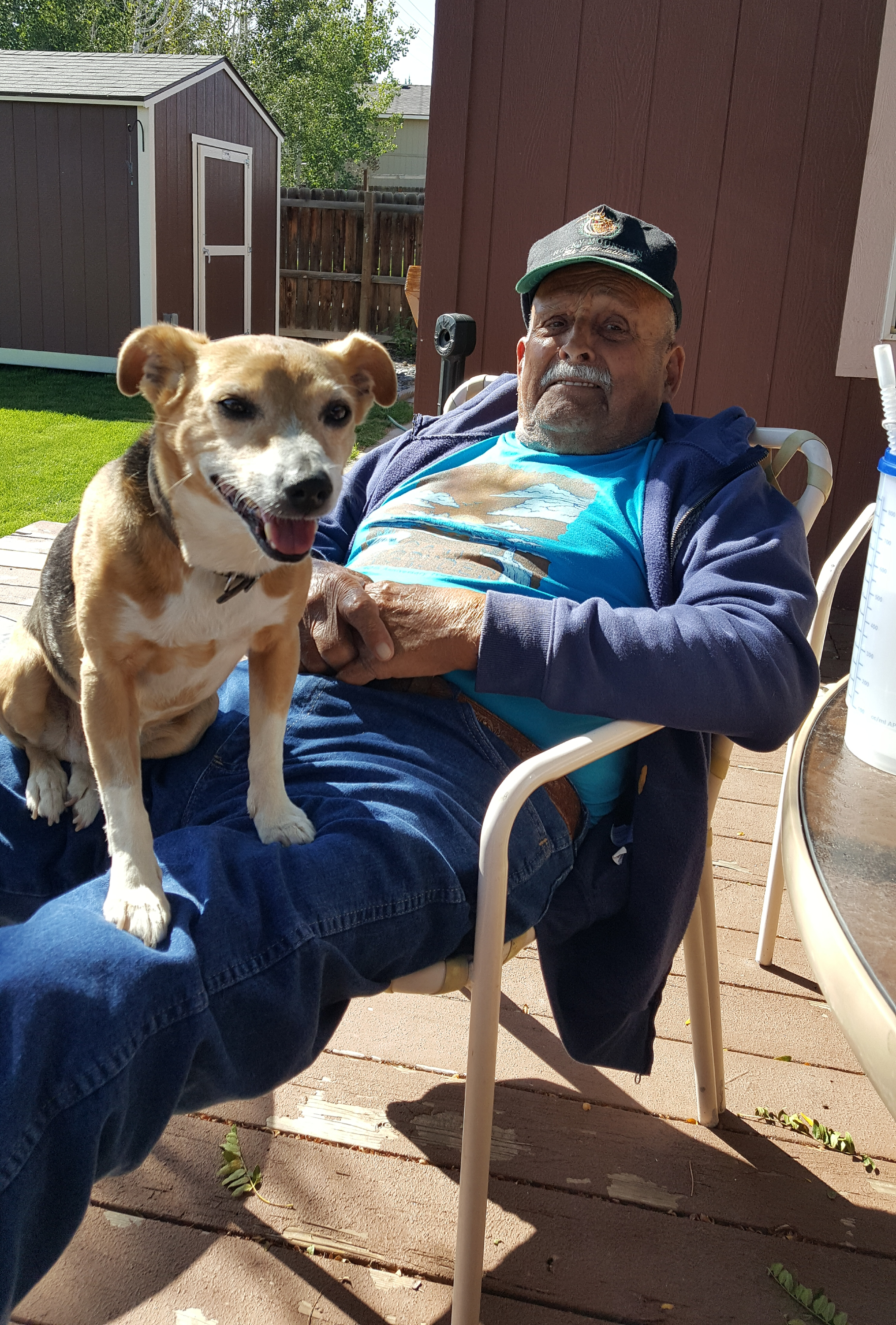 DSHS Clients: Fritz and Friend