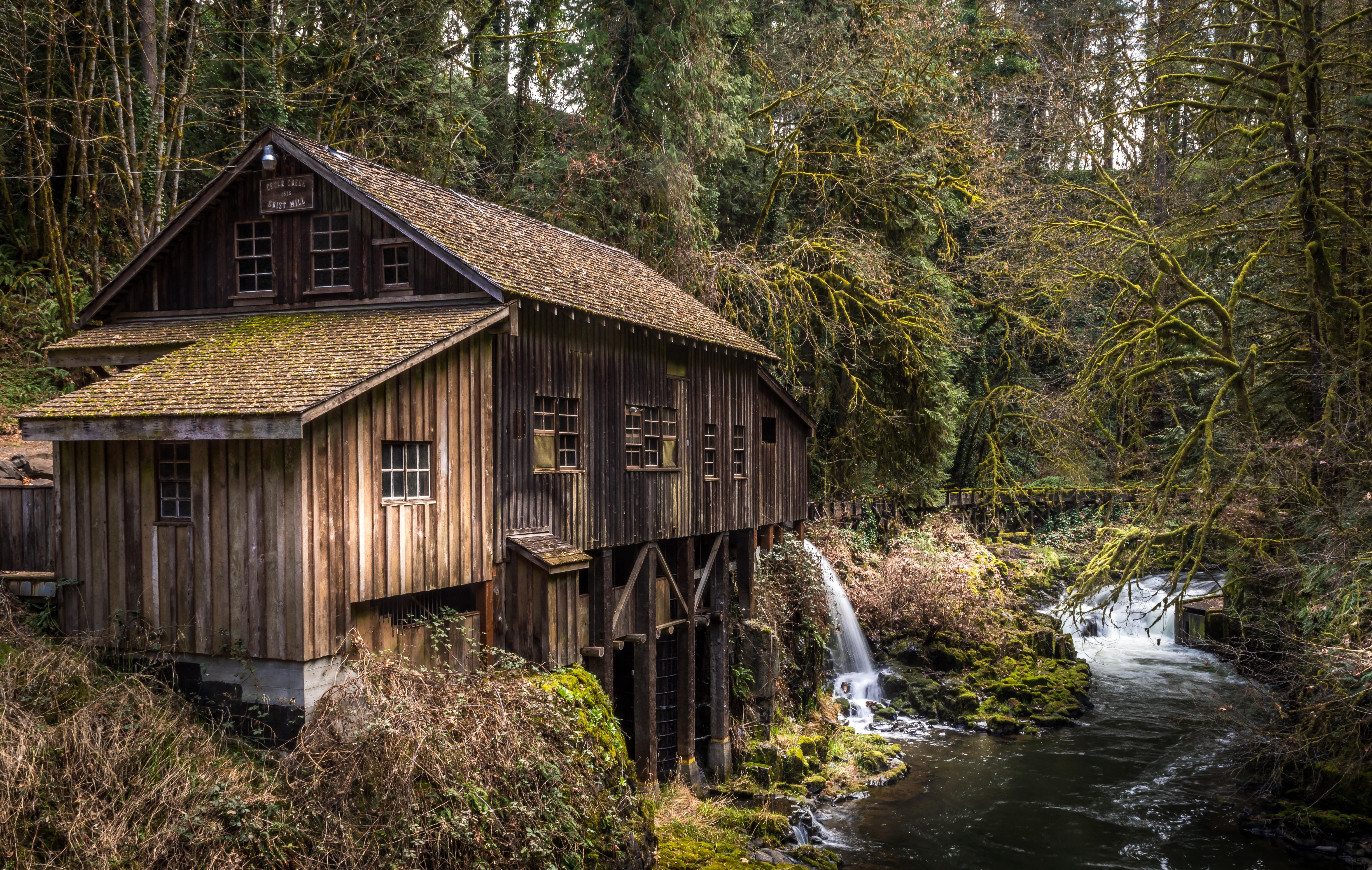 TECHNICAL: Hon Mention - #158 Cedar Creek Grist Mill
