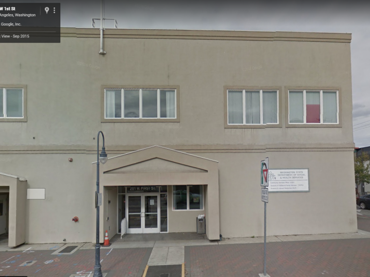 Exterior image of Port Angeles community services office