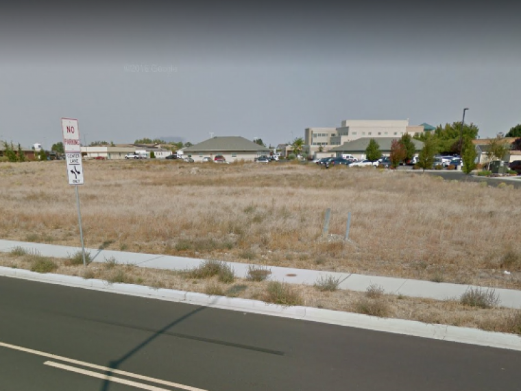Future site of Moses Lake office