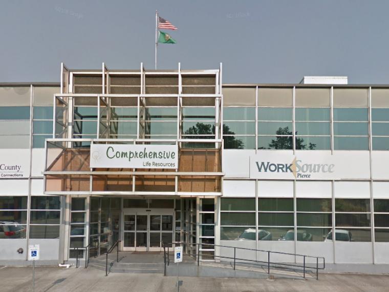 Exterior photo of Tacoma office