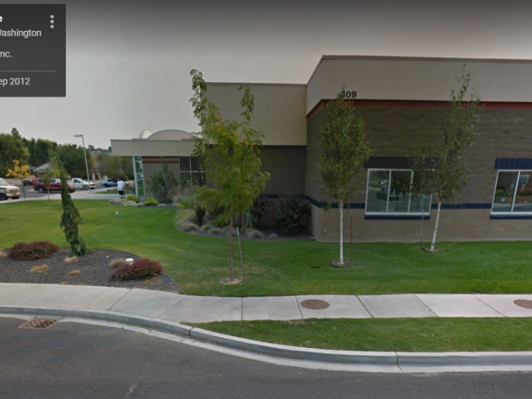 Exterior photo of Moses Lake customer service office