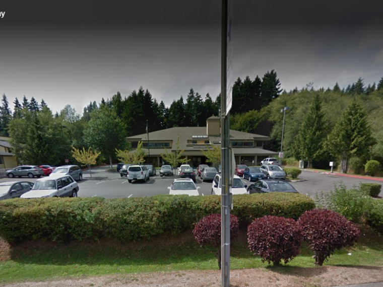 Exterior photo of Silverdale office