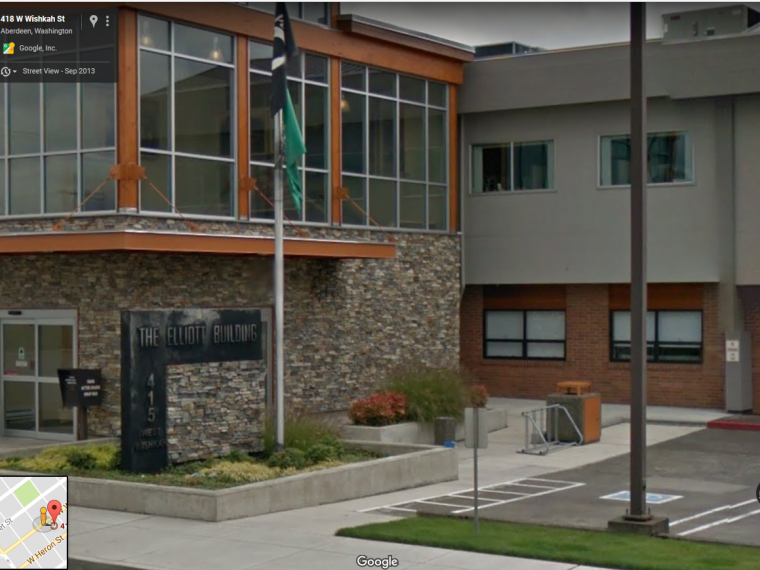 Exterior photo of Aberdeen office